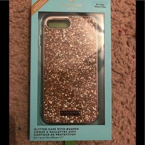Kate Spade Exposed Glitter iPhone 6/7/8 Plus Case